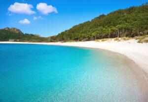 praia de rodas illas cies galicia