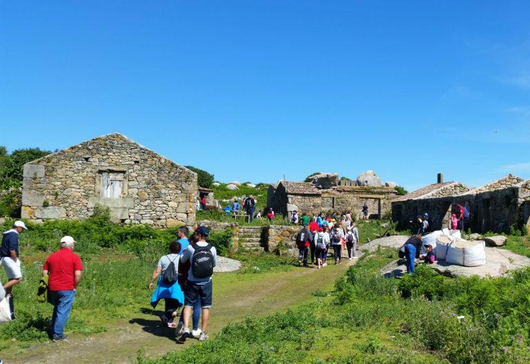 """Excursión a la aldea de la Isla de Sálvora"""""""