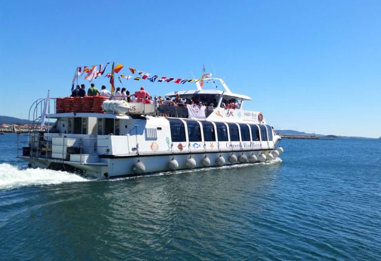 Catamarán de la ruta Traslatio