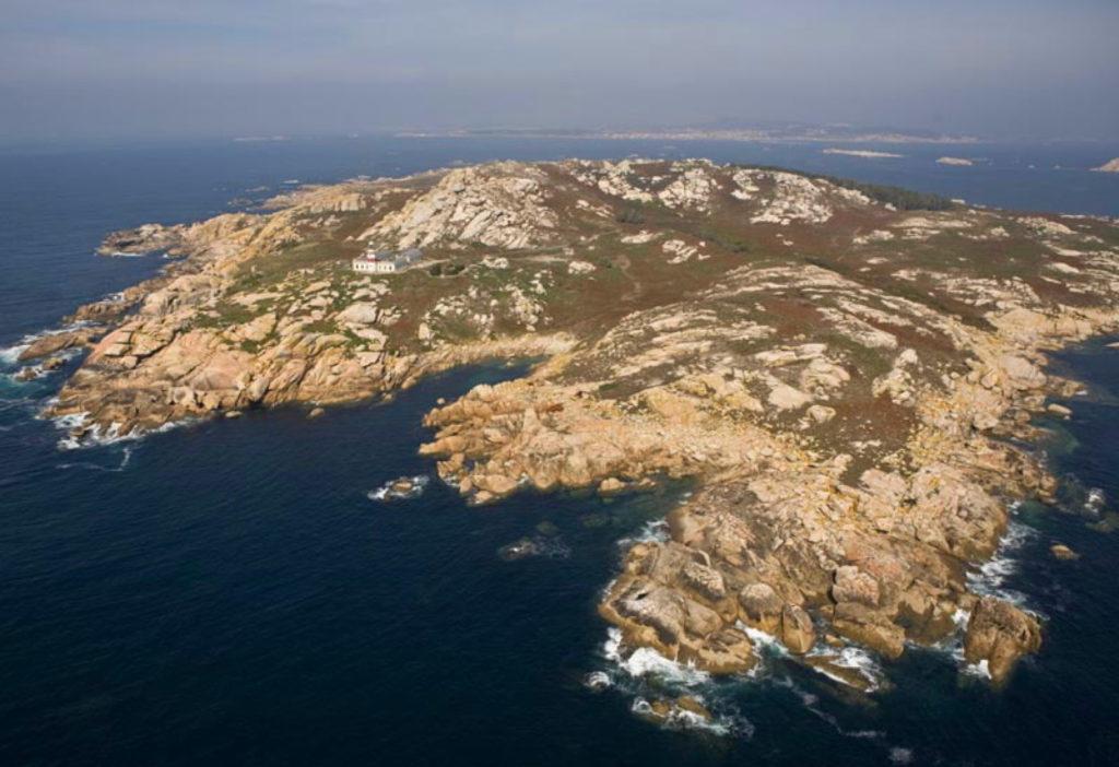 vista aerea isla de salvora