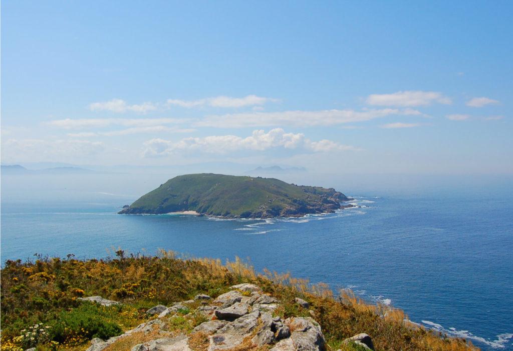vista de la isla de onza
